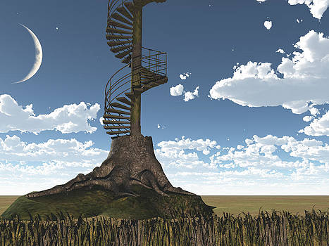 Stairs by Bruce Rolff