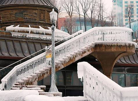 Stairs of Ice by Al Fritz