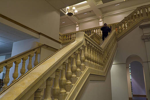 Devinder Sangha - Stairs on left