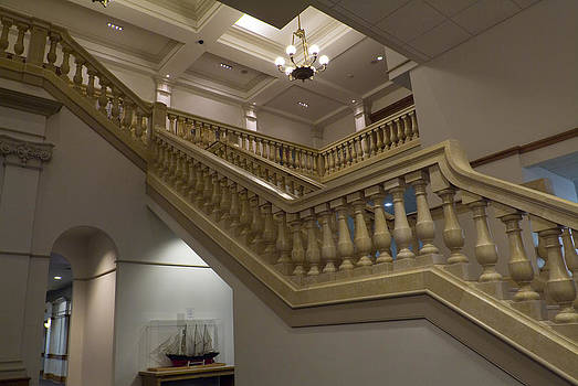 Devinder Sangha - Stairs on right