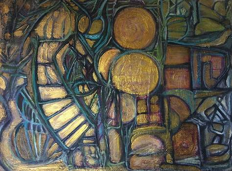 Stairs to Golden Age by Kamal Gill
