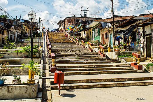Allen Sheffield - Stairway from Shanty Town