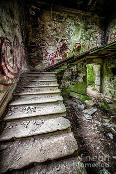 Adrian Evans - Stairway Graffiti