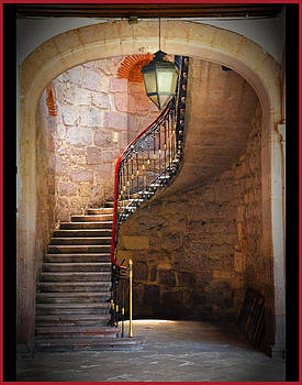Stairway of Light by Barry Weiss
