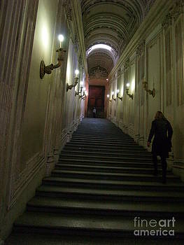 Stairway  by Robin Maria Pedrero