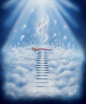 Stairway To Heaven by Nickie Bradley