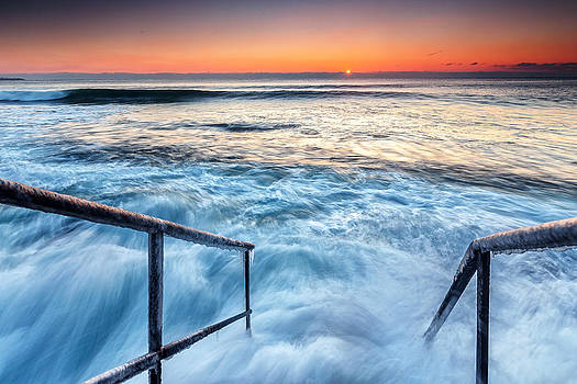 Stairway To Sea by Evgeni Dinev