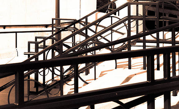 Stairwell Abstraction by Anthony Sell