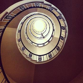 Stairwell Hampshire House, Boston by Tricia ONeill
