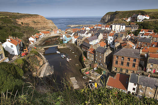 Staithes North Yorkshire by Mark Richardson