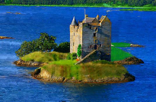 Stalker Castle Scotland by Bruce Nutting