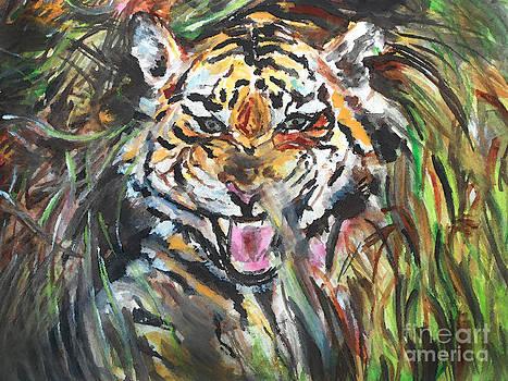 Stalking Tiger by Melanie Alcantara Correia