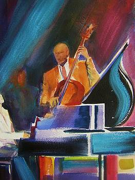 Stand Up Bass Man by Therese Fowler-Bailey