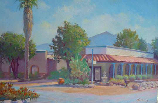 Standin' on the corner in Tubac Arizona by John Marbury