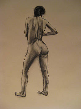 Standing Nude by James Gallagher