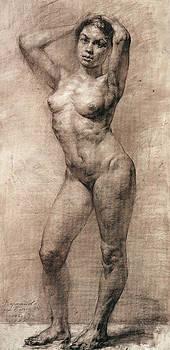 Standing nude by Kartashov Andrey