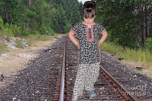 Standing on the Tracks by ChelsyLotze International Studio