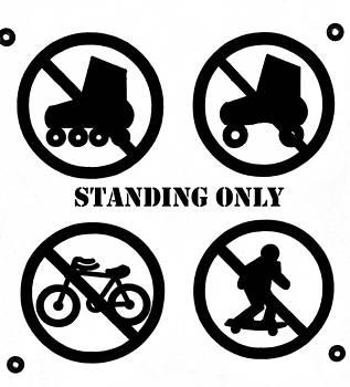 Bill Owen - Standing Only Street Sign