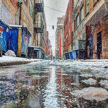 Standing Tall In A #philadelphia Snow by Stacey Lewis