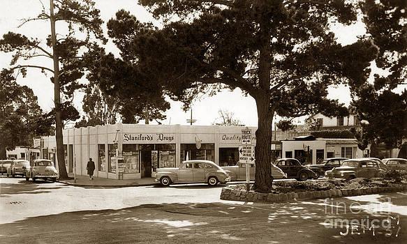 California Views Mr Pat Hathaway Archives - Stanifords Drug Store Ocean Ave.Cor San Carlos Carmel circa 1941