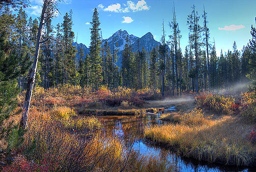 Stanley Lake Inlet by Rick Otto