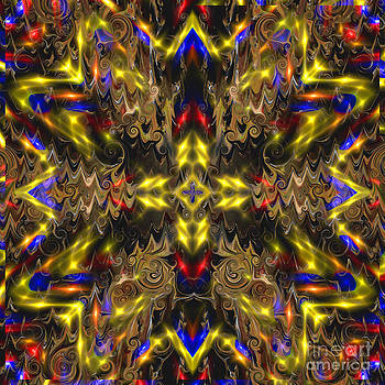 Star Light Mandala Digital Painting by Heinz G Mielke