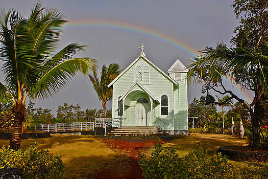 Venetia Featherstone-Witty - Star Of The Sea Painted Church Hawaii