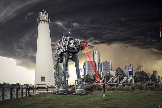 Star Wars All Terrain Armored Transport by Nicholas  Grunas