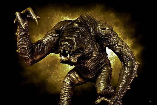 Star Wars Rancor Monster by Nicholas  Grunas