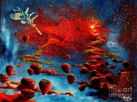 Starberry Nova Alien excape by Murphy Elliott