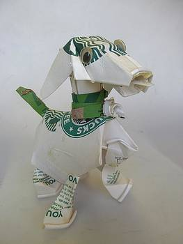 Alfred Ng - Starbucks doggie