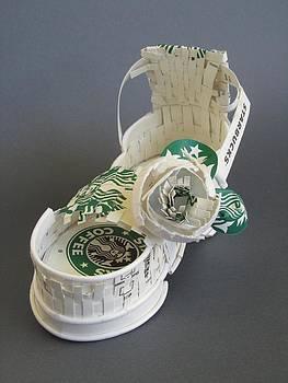 Alfred Ng - Starbucks sandal