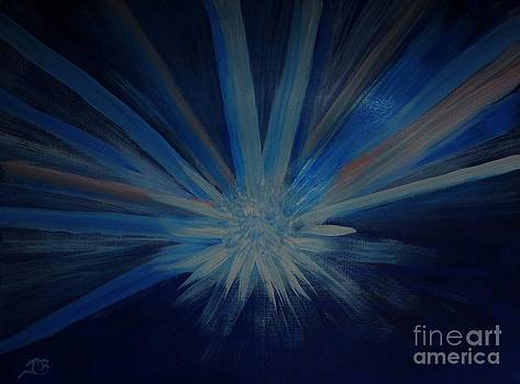 Starburst in Motion I by Marie Bulger