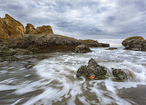 Nathan Mccreery - Starfish and Surf  Cape Kiwanda  Oregon