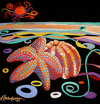 Starfish and the Sea Urchin by Shelley Overton