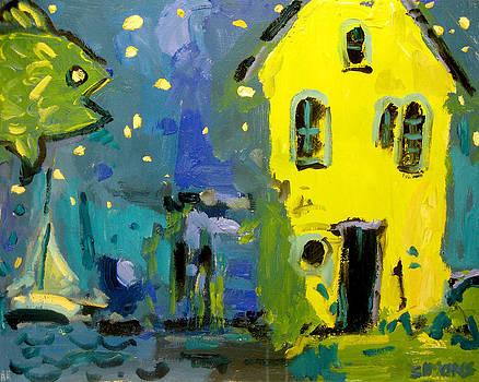 Starfish Yellow House by Brian Simons