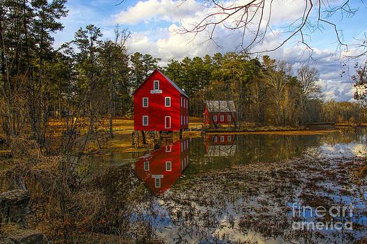 Barbara Bowen - Starrs Mill reflection