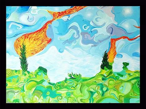 Starry Dream by Gabriel  Palcic