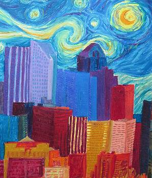 Cherie Sexsmith - Starry Night City