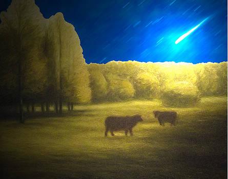 Algirdas Lukas - Starry Night Landscape 06