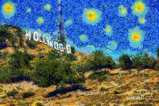 Wingsdomain Art and Photography - Starry Nights In The Hollywood Hills 5D28482 20141005