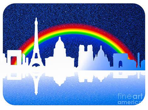 Algirdas Lukas - Starry Paris Skyline 16