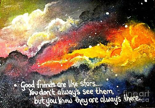 Stars  by Una  Miller