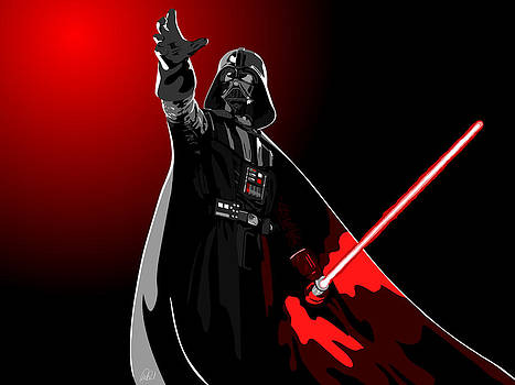 Starwars Darth Vader by Paul Dunkel