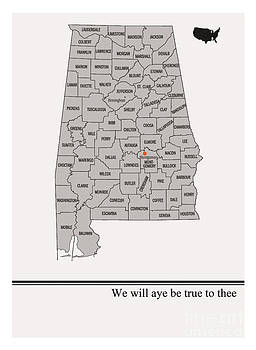 State Arts- Alabama by Trilby Cole