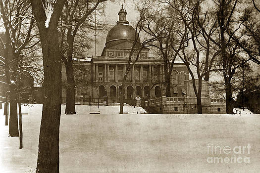 California Views Mr Pat Hathaway Archives - State Building Boston Massachusetts circa 1900