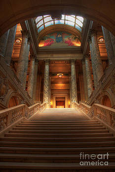 Wayne Moran - State Capital of Minnesota Staircase