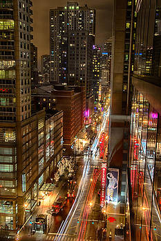 State Street - Chicago - 12-14-13 by Michael  Bennett