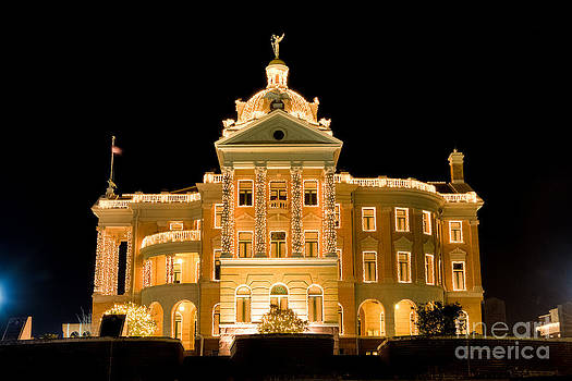 Stately Courthouse by Geoff Mckay