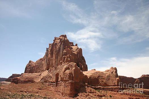 Stately Rock Formation by Katherine Karsten